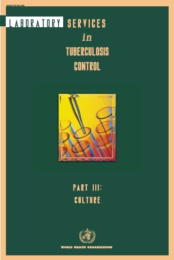 laboratory services in tuberculosis control - Centers for Disease ...