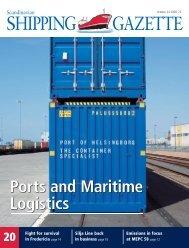 Ports and Maritime Logistics - Shipgaz