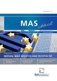 kurz notiert - MAS Consult GmbH Stammler