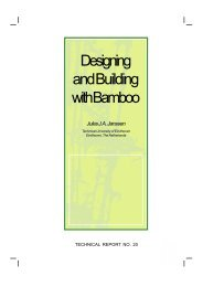 Designing and Building with Bamboo - INBAR