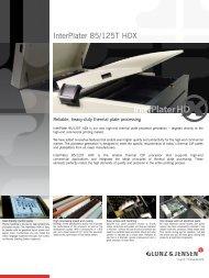 InterPlater 85/125T HDX - Fujifilm
