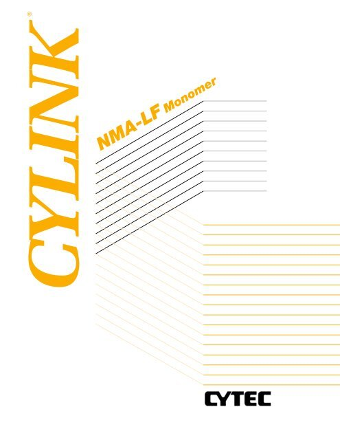 7934299663 PRT 789 A Cylink NMA-LF Monomer - CYTEC Industries
