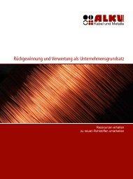 Rückgewinnung und Verwertung als Unternehmensgrundsatz