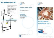 Projektraum Feldkirch 2012