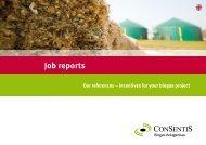 Job reports - Consentis Anlagenbau GmbH