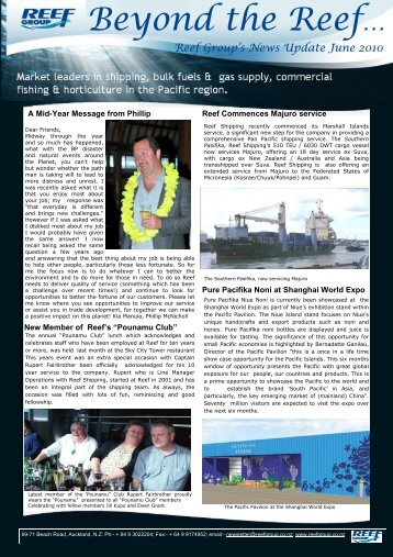 RG Newletter June Monthly Final (2).pub - Reef Group Limited