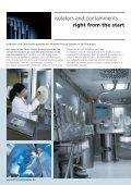 Produktbroschüre Isolatoren und Containments - bei Process Systems - Seite 4