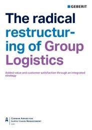 Integrated Geberit Group Logistics - Geberit International AG