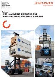 HCCR HAMBURGER CONTAINER- UND CHASSIS ... - Konecranes
