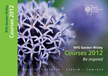 Download the 2012 programme (1MB pdf) - Royal Horticultural Society