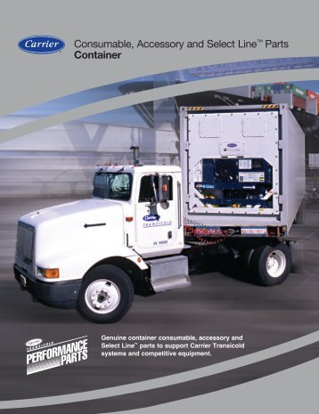 Consumable, Accessory and Select Line™ Parts Container - Carrier ...
