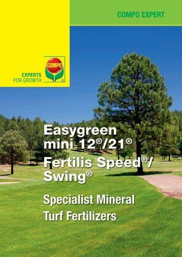 Easygreen mini 12®/21® Fertilis Speed®/ Swing® - COMPO EXPERT