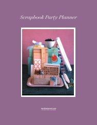 Scrapbook Party Planner - Martha Stewart