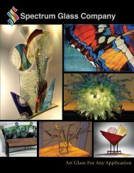 Spectrum Glass Company Art Glass For Any Application - GLS GmbH