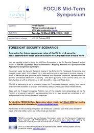 FOCUS Mid-Term Symposium - SecureLINE