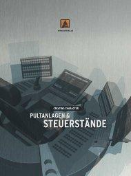 Pultanlagen & Steuerstände - Schinko Österreich