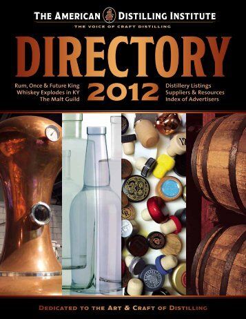 502-320-6419 - The American Distilling Institute