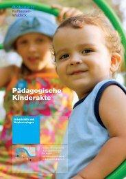 Pädagogische Kinderakte - Diakonisches Werk in Kurhessen-Waldeck
