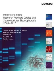 Molecular Biology Research Products Catalog and Sourcebook for ...