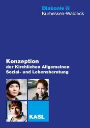Konzeption KASL - Diakonisches Werk in Kurhessen-Waldeck