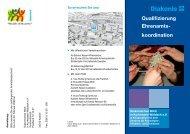 Qualifizierung Ehrenamtskoordination - Diakonisches Werk in ...