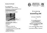 Wichtige Anmerkungen: - Diakonisches Werk in Kurhessen-Waldeck