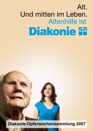 Mitten im Leben - Diakonisches Werk in Kurhessen-Waldeck