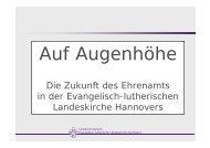 Die Zukunft des Ehrenamts in der Evangelisch-lutherischen ...