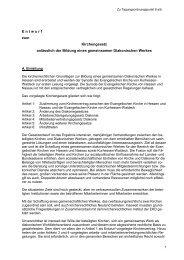 (ARRG) vom 15.11.2011 für das DW Hessen+ - Diakonisches Werk ...