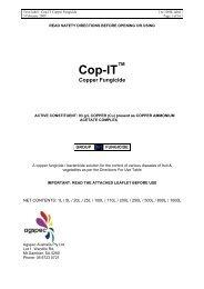 Cop-IT Copper Fungicide - AGSPEC