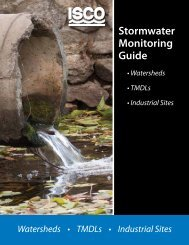 Stormwater Monitoring Guide - Isco