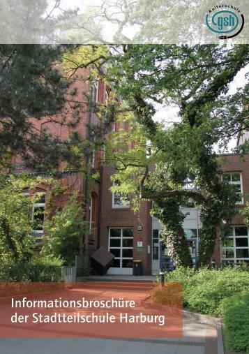 Informationsbroschüre der Stadtteilschule Harburg - Gesamtschule ...