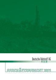 Geschäftsbericht Konzern 2011 - Deutsche Rohstoff AG