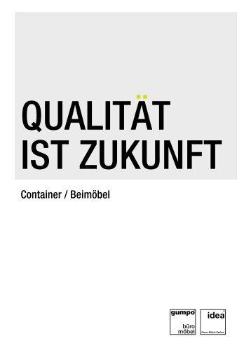 Container / Beimöbel - gumpo Büromöbel