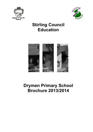 Primary & Secondary School Education in 2013 - Stirling Council