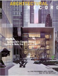 Architectural Record Article: Review - Samuel Anderson Architects