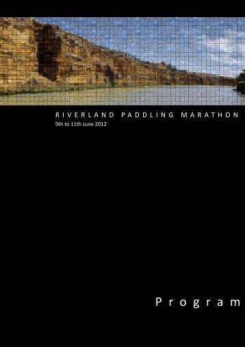 E1 - Riverland Paddling Marathon