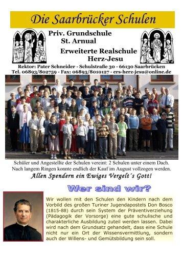 Schulzeitung - Erweiterte Realschule Herz-Jesu