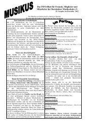 Musikus Dezember 2012 - Bornheimer Musikschule eV