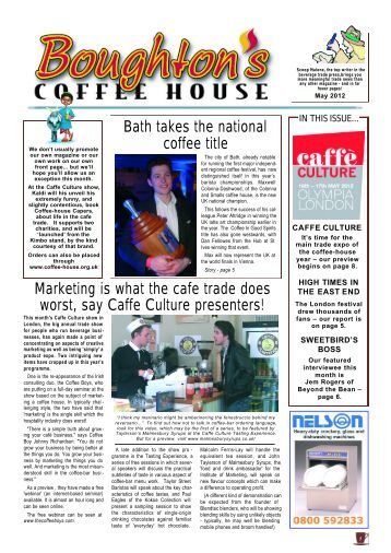 Coffee House 60, May 2012 - Boughton's Coffee House