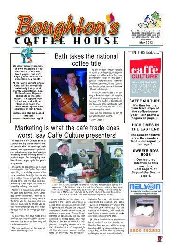 Coffee House 60, May 2012 - Boughton's Coffee House