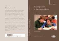 Erfolgreiche Unterrichtsideen Mathematik - Freiburger Verlag