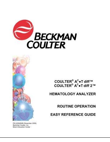 Www beckmancoulter com Magazines