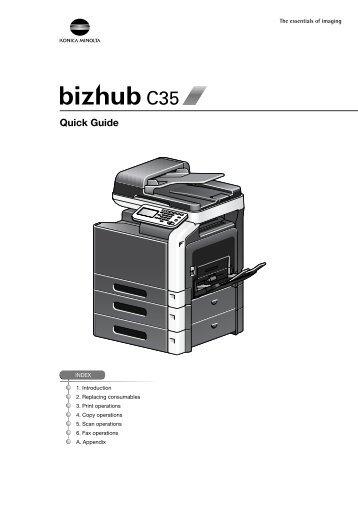 bizhub c35 printer copier scanner user guide cedar valley rh yumpu com konica minolta bizhub c35 fax user guide bizhub c35 user manual