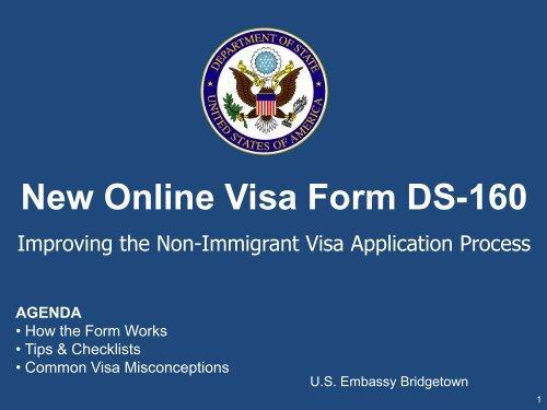 new online visa form ds 160 embassy of the united states. Black Bedroom Furniture Sets. Home Design Ideas