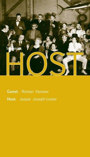 Transmission: Guest: Roman Vasseur Host: Jaspar Joseph-Lester