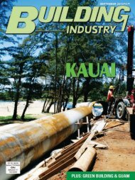 303-4550 Email - Building Industry Magazine