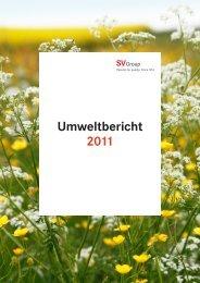 Umweltbericht 2011 (PDF) - SV (Schweiz)