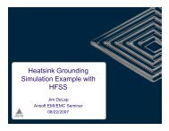 Standard Heatsink Grounding Problem - Jim DeLap