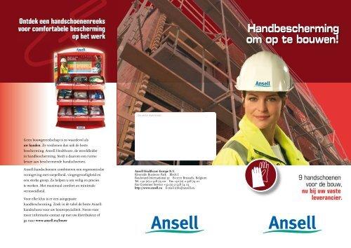 Handbescherming om op te bouwen! 9 ... - Ansell Healthcare Europe